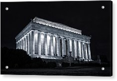 Lincoln Memorial Acrylic Print by Joan Carroll