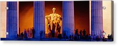 Lincoln Memorial, Washington Dc Acrylic Print by Panoramic Images
