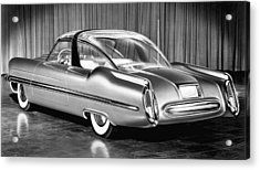 Lincoln Xl-500 Concept Car Acrylic Print by Underwood Archives