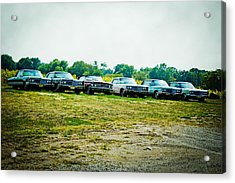 Line Up Acrylic Print by Off The Beaten Path Photography - Andrew Alexander