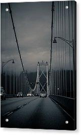 Lions Gate Bridge Vancouver Acrylic Print by Eti Reid