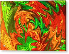 Liquefied Quinidine Acrylic Print by Clouds Hill Imaging Ltd