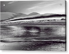 Liquid Metal Acrylic Print by Jon Burch Photography