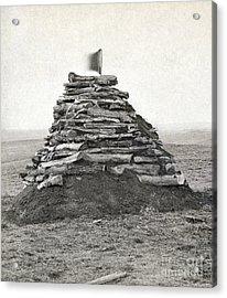 Little Bighorn Monument Acrylic Print by Granger