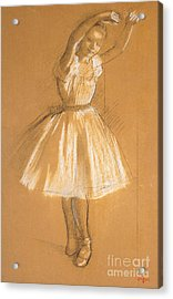 Little Dancer Acrylic Print by Edgar Degas
