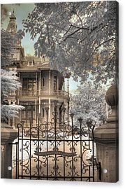 Littlefield Home Acrylic Print by Jane Linders