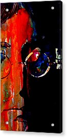 Living Is Easy With Eyes Closed Acrylic Print by Paul Lovering