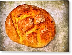 Loaf Of Bread Acrylic Print by Matthias Hauser