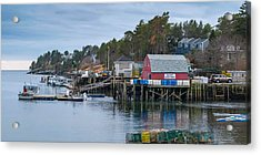 Lobstering Acrylic Print by Guy Whiteley