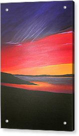 Loch Ewe Acrylic Print by Aileen Carruthers