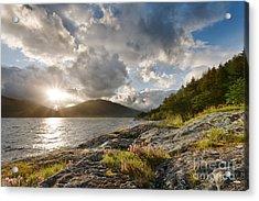 Loch Lomond Acrylic Print by Rod McLean