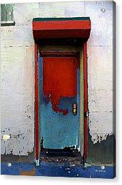 Locked Door, Hell's Kitchen Acrylic Print by RC deWinter