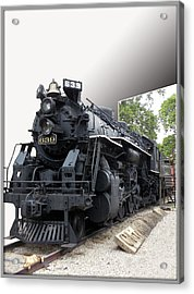 Locomotive 639 Type 2 8 2 Out Of Bounds Acrylic Print by Thomas Woolworth