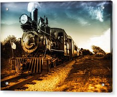 Locomotive Number 4 Acrylic Print by Bob Orsillo