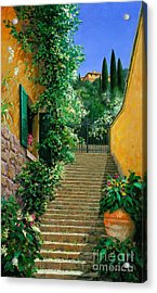 Lofty Hights - Oil Acrylic Print by Michael Swanson