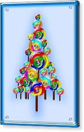 Lollipop Tree Acrylic Print by Anastasiya Malakhova