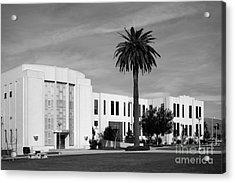Loma Linda University Library Acrylic Print by University Icons