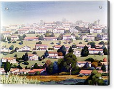 Lomas Santa Fe Acrylic Print by Mary Helmreich