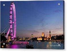 London Eye Acrylic Print by Rod McLean