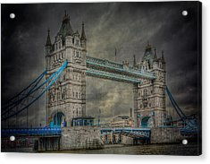 London Tower Bridge Acrylic Print by Erik Brede