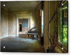 Lone Piano Acrylic Print by Sheri Knauer