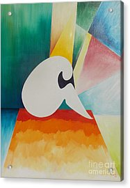 Loneliness Acrylic Print by PainterArtist FIN