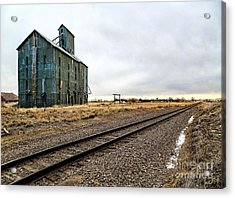 Lonesome Road Acrylic Print by Jon Burch Photography