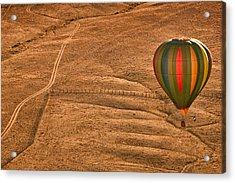 Lonesome Road Acrylic Print by Keith Berr