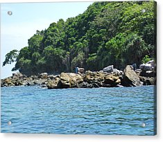 Long Boat Tour - Phi Phi Island - 0113199 Acrylic Print by DC Photographer