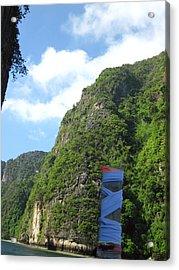 Long Boat Tour - Phi Phi Island - 011341 Acrylic Print by DC Photographer