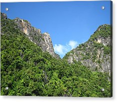 Long Boat Tour - Phi Phi Island - 011368 Acrylic Print by DC Photographer