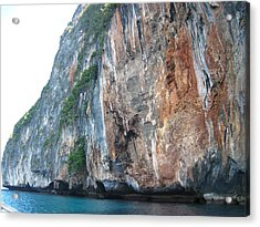 Long Boat Tour - Phi Phi Island - 011390 Acrylic Print by DC Photographer
