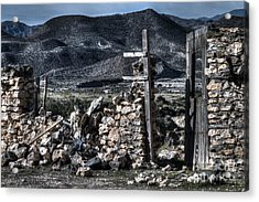 Long Gone Past Acrylic Print by Heiko Koehrer-Wagner
