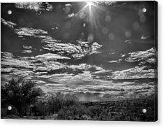 Look To The Western Sky Acrylic Print by Judi FitzPatrick