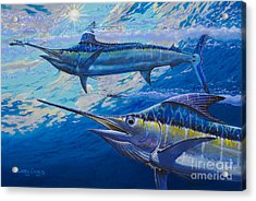 Lookers Off0019 Acrylic Print by Carey Chen