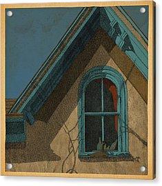 Looking In Acrylic Print by Meg Shearer