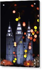 Looking Through Light Acrylic Print by Chad Dutson