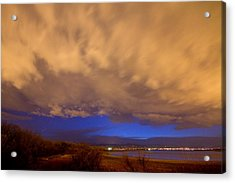 Looking Through The Storm Acrylic Print by James BO  Insogna
