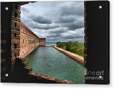 Lookout Window Acrylic Print by Adam Jewell