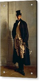 Lord Ribblesdale Acrylic Print by John Singer Sargent