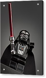 Lord Vader Acrylic Print by Samuel Whitton