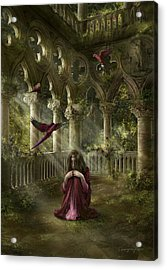 Lost Acrylic Print by Cassiopeia Art