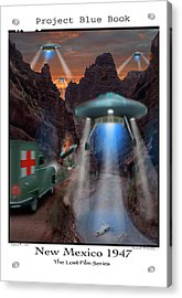 Lost Film Number 3 Acrylic Print by Mike McGlothlen