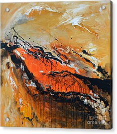 Lost Hope - Abstract Acrylic Print by Ismeta Gruenwald