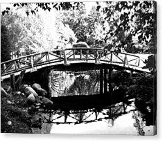 Lost Lagoon Bridge  Acrylic Print by Will Borden