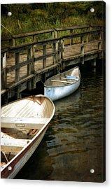 Lost Lake Boardwalk Acrylic Print by Michelle Calkins