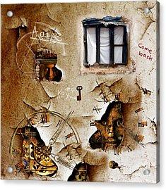 Lost Memories Behind My Longing Window Acrylic Print by Franziskus Pfleghart