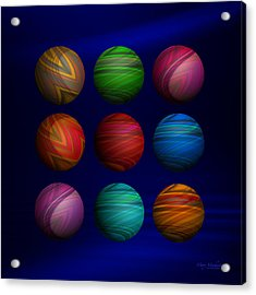 Lost My Marbles Acrylic Print by Mary Machare