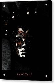 Lost Soul  Acrylic Print by Gerlinde Keating - Keating Associates Inc