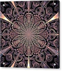 Lotus Gates Acrylic Print by Anastasiya Malakhova